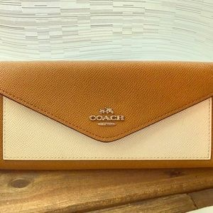 BRAND NEW Coach Soft Wallet 100% Authentic